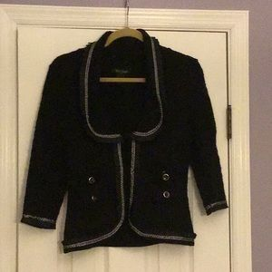 Short black Jacket